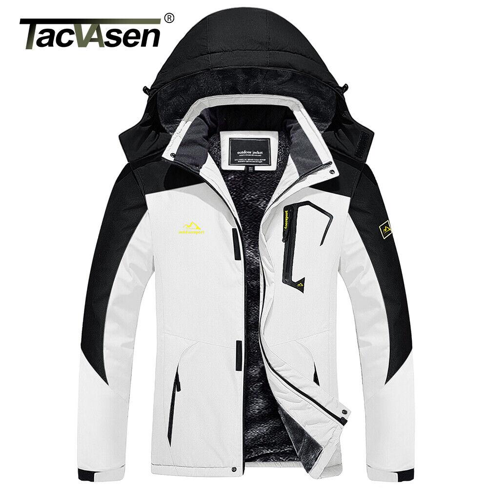 Womens Ski Snowboard Thermal Fleece Warm Rain Jacket Work Coat Windbreaker Parka