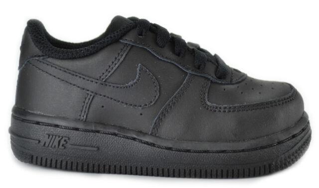 314194 009 Nike Air Force 1 schwarz SNEAKERS Infant Toddler Größe 3