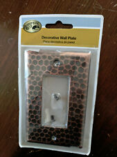 Hampton Bay 1 Decora Rocker Wall Switch Plate Hammered Bronze Gfci Outlet For Sale Online Ebay