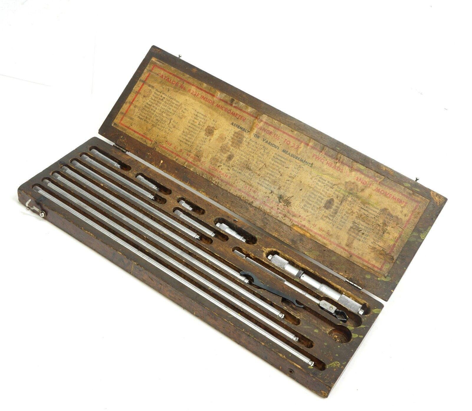 starrett micrometer, tubular micrometer, 823F