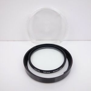 Hoya-Star-Six-Lens-Filter-52mm-Star-Effect-w-Keeper
