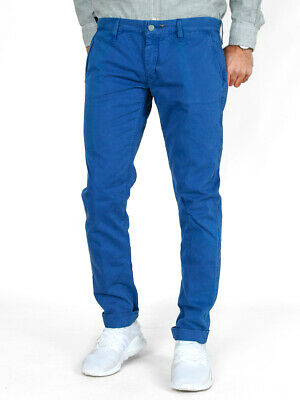 Romantisch Htc Herren Designer Slim Fit Chino Stoff Hose | W30 L30 | uvp*190€ | Low Waist Novel (In) Design;
