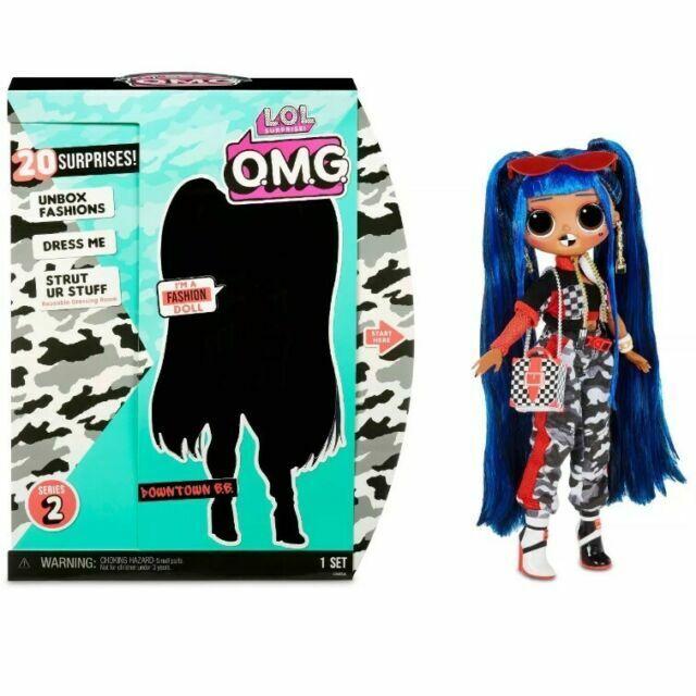L O L Surprise O M G Fashion Doll Downtown B B For Sale Online Ebay