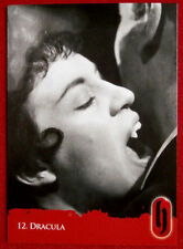 HAMMER HORROR - Series Two - Card #12 - Dracula - Strictly Ink 2010