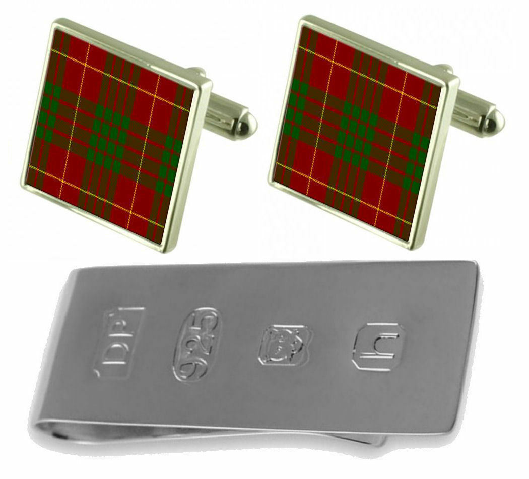Tartan Clan Cameron Gemelli & James Bond Money Money Money Clip 662e0b