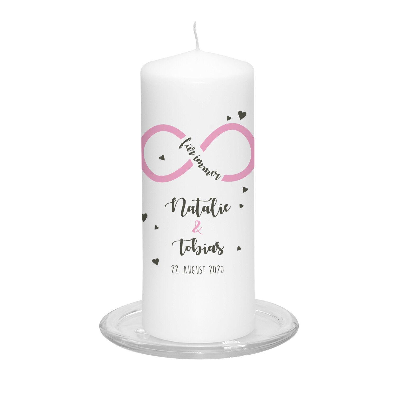 Hochzeitskerze Unendliche Liebe inkl Personalisierung Hochzeit Hochzeit Hochzeit Traukerze Vintage 21e5cc