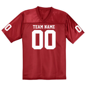 Custom Football Fan Jersey   S to 4XL   Bachelor Party   Gift for ... 6f068fb2f