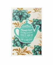 HANNAH GLASSE ___ EVERLASTING SYLLABUB AND THE ART OF CARVING ___ BRAND NEW