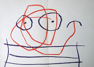 MIRO-LITHOGRAPH-w-COA-invest-gift-magical-Joan-Miro-1972-litografo-RARE-ART