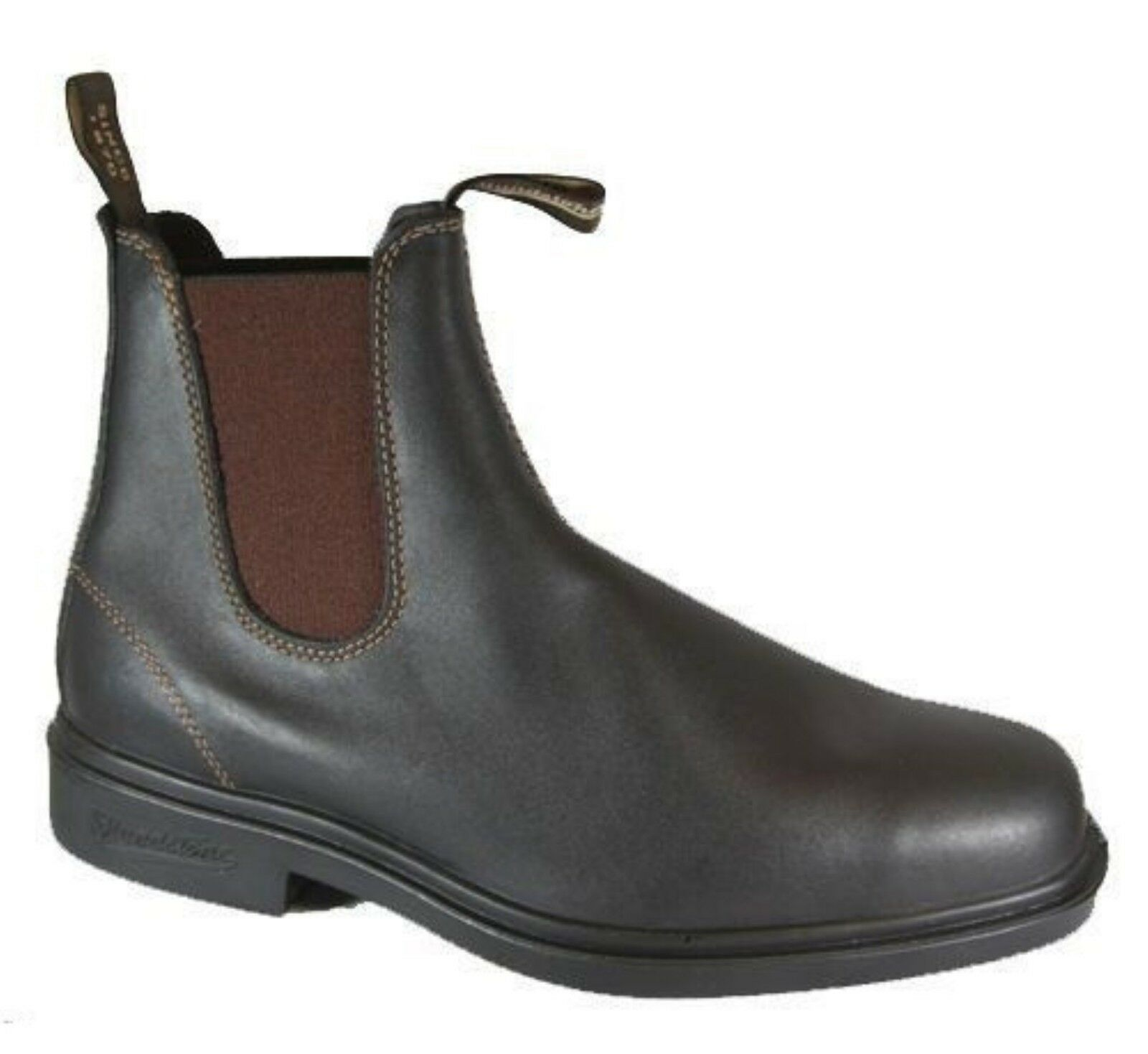Blaundstone 062 Stout  braun braun braun Premium Leather Classic Stiefel Australia 07feb2