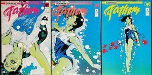 Fathom Complete Set Bill Willingham Schick Jill Thompson Elementals GGA 1987 NM