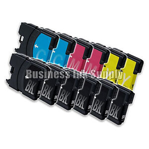 12-PK-New-LC61-Ink-Cartridge-for-Brother-Printer-MFC-490CW-MFC-J415W-MFC-J615W