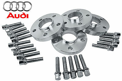 Complete Set Audi S5 2008 - 2014 20 MM Hub Centric Wheel Spacers Kit 66.6 Bore