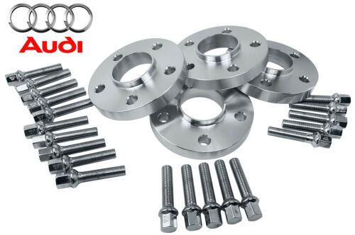 Complete Set Audi S5 2008-2014 20 MM Hub Centric Wheel Spacers Kit 66.6 Bore
