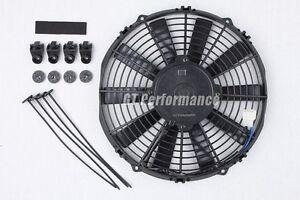 Ventilateur-Plat-310mm-Universel-160W-Ventilo-Type-Spal-Auto-Moto-Cross-Quad