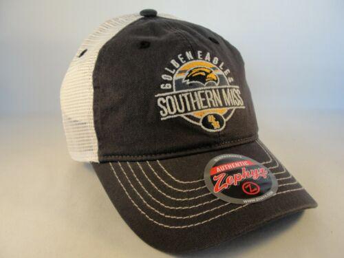 Southern Miss Golden Eagles NCAA Zephyr Trucker Snapback Hat Cap