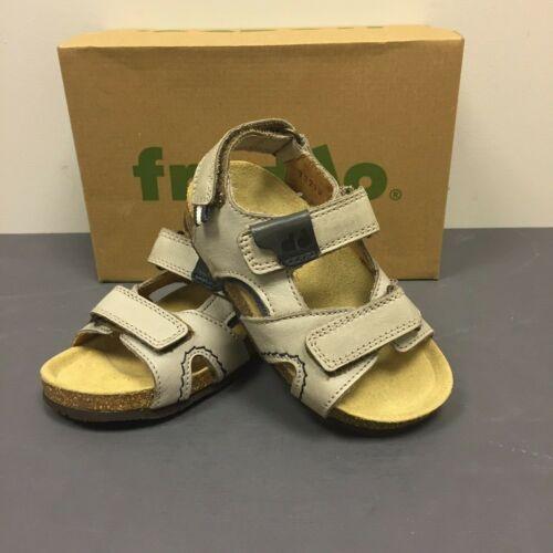 FRODDO Boys Kids Blush Leather Open Toe Beige Sandals Shoes G3150087-2