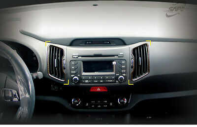 New Carbon Interior Cover Molding 12 pcs K222 for Kia Sportage 2011 ~ 2015