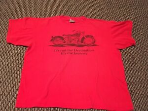 Vintage-Vtg-90s-Harley-Davidson-Motorcycles-Lake-Tahoe-T-Shirt-Sz-Xl-Made-In-Usa