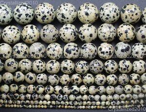 Natural-Dalmation-Spot-Jasper-Gemstone-Round-Beads-4mm-6mm-8mm-10mm-12mm-15-5-034