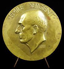 Médaille 291 g l'Hopital de la Charité Docteur Emile Sergent 1937 Dropsy Medal