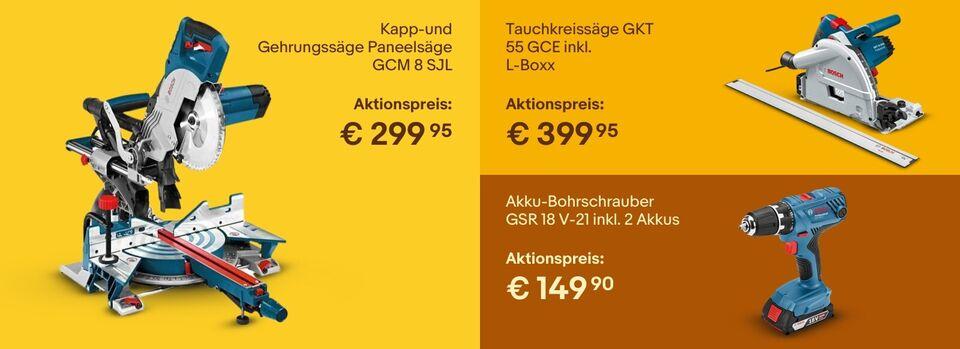 Bosch bis zu -40%*— Zur Aktion - Bosch bis zu -40%*