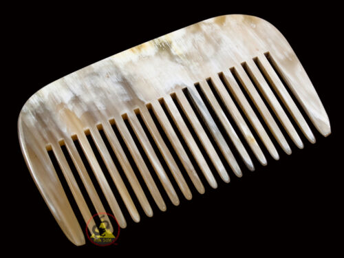 Rake tooth 10 x 6.5 cm ~ 3.93 x 2.55 inch Real Horn Comb