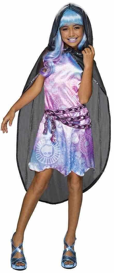 Monster High - River Styxx Haunted Doll Fancy Dress Up Halloween Child Costume