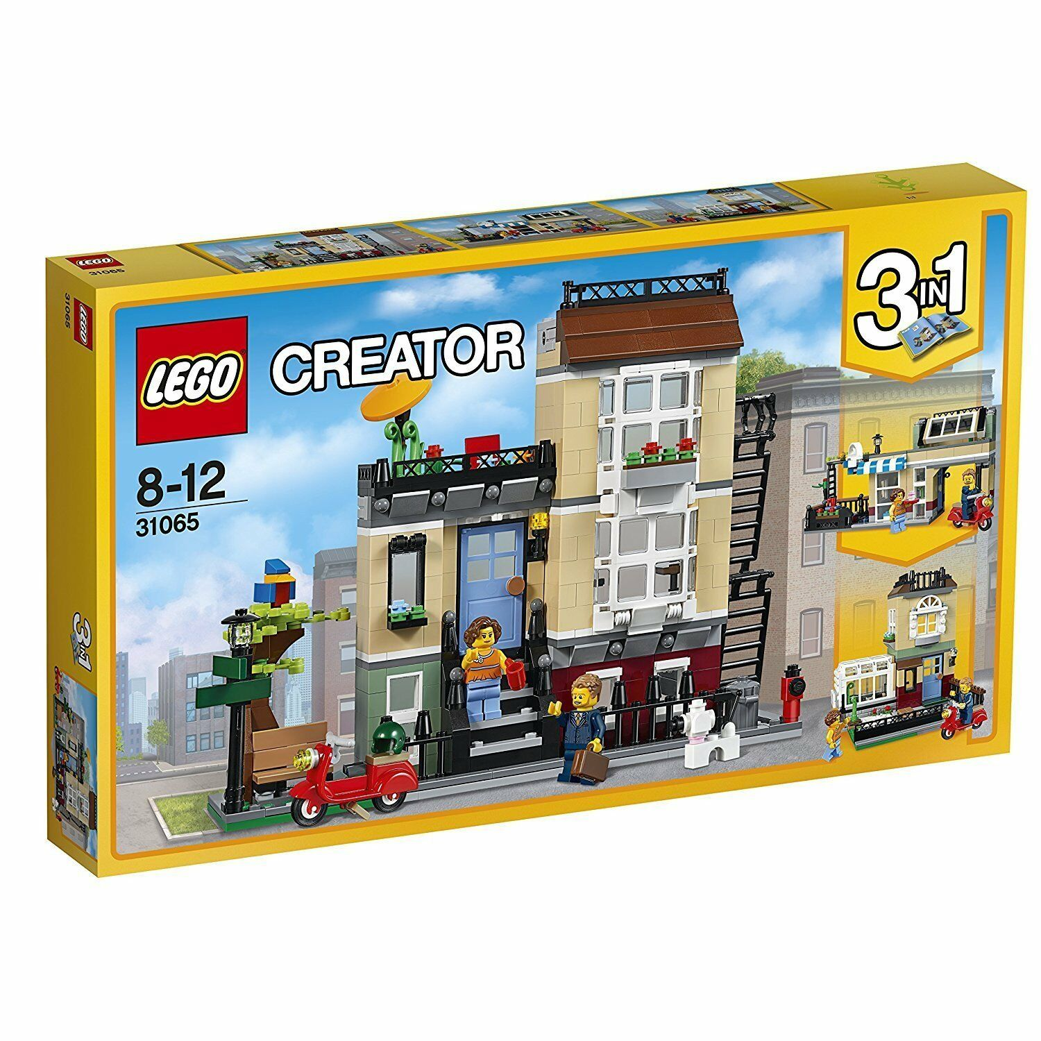 Lego Creator 31065 Town House at the Park Road New Ovp Misb