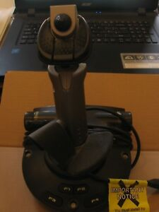 Saitek-Gaming-Pc-JOYSTICK-USB-gearstick-Cyborg-3d-Gold-JOY-STICK