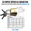 Lock BP100A-45-BX PADLOCK OLYMPUS BP100 KA MOUNTAIN SERIES BLISTER PACKED BRASS