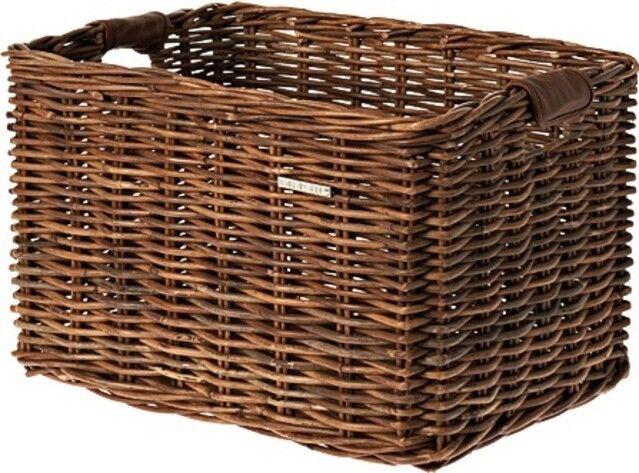 0.338.619 0 Basil Fahrradkorb vorne Rattankorb Lenkerkorb Dorset 52x36x27 large