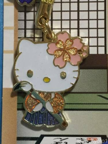 F//S Hello Kitty Japanese Style Calligraphy Key Chain Strap from Japan