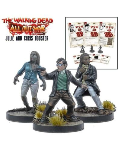 Mantic Games The Walking Dead Nuevo Y En Caja miniaturas Booster Julie /& Chris mgwd 112