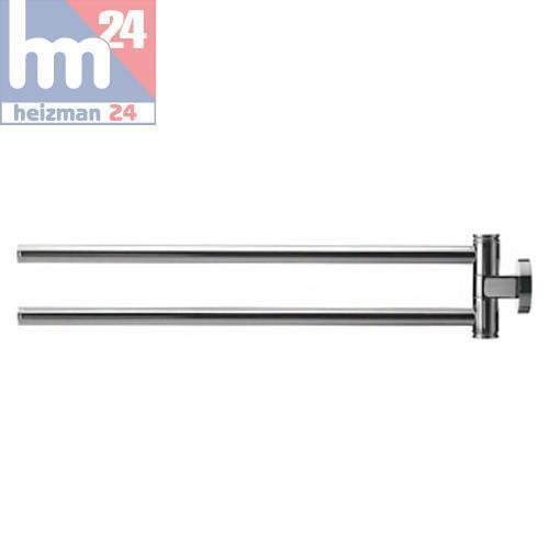 Duravit Code D Zweiarmiger Porte-Serviettes 445 mm Chrome 0099221000