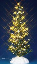 Lemax 225mm Lighted Pine Christmas Tree Model Railways Village