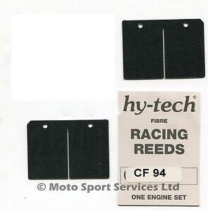 anches-hy-tech-COURSE-roseau-fibre-de-CARBONE-SUZUKI-RM250-1996-to-2002-RM-250