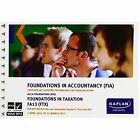 FTX Foundations in Taxation - Pocket Notes by Kaplan Publishing (Paperback, 2013)