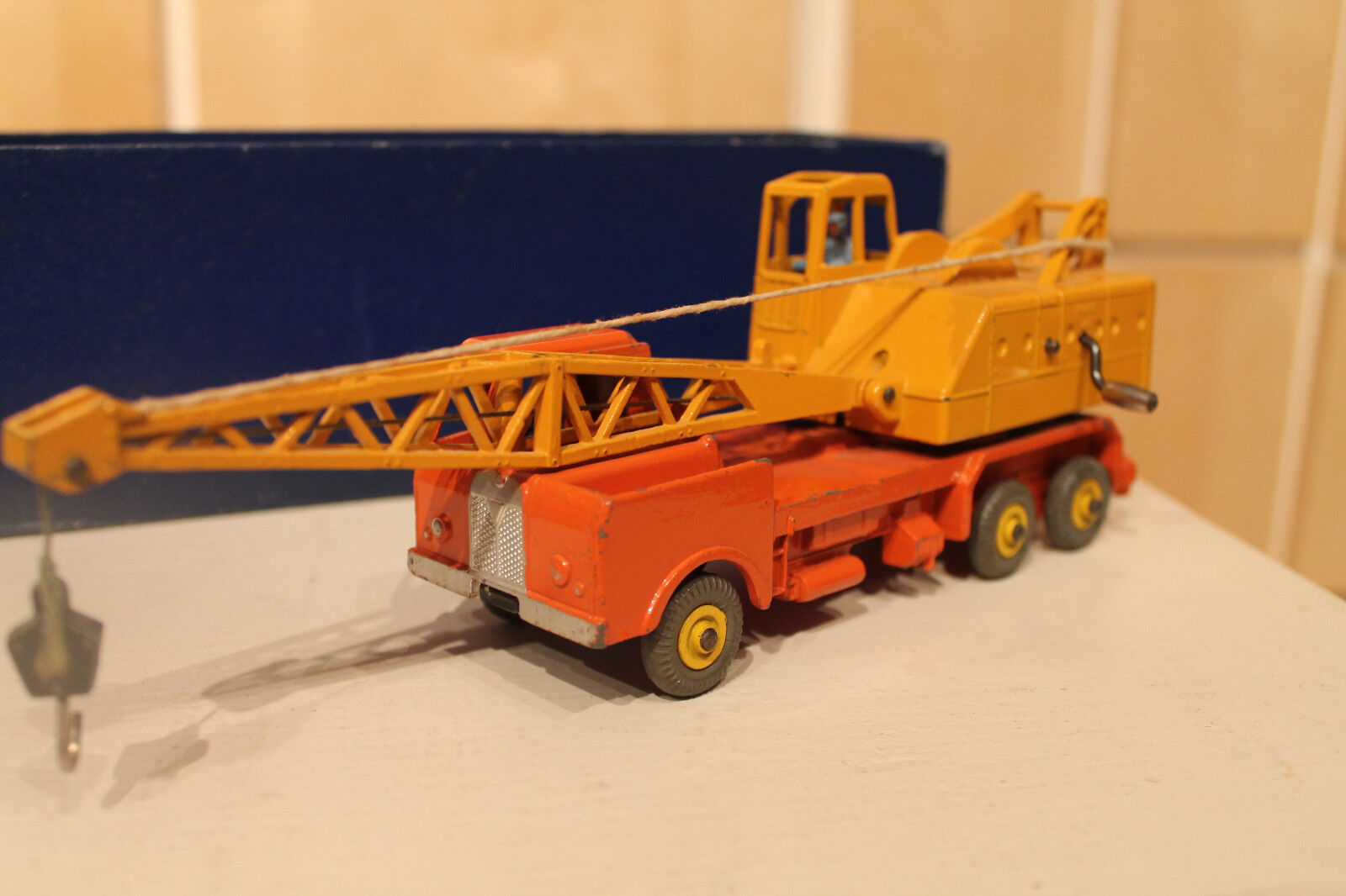 DINKY SUPERTOYS * Coles 20 tono Lorry mounted Crane * OVP
