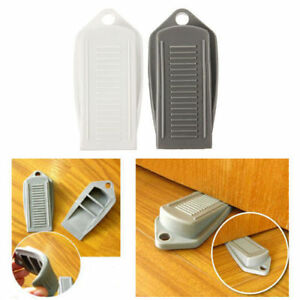 Image Is Loading Rubber Wedge Door Stop Stopper Holder Safety Prevent