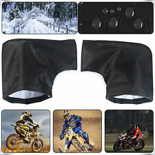 Thermal Motorcycle Handle Bar Muffs Motorbike Hand Protection Mitts Gloves Bike