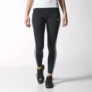 Image is loading Adidas-Women-039-s-Essential-3-Stripe-Tights-
