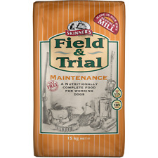 2 x15kg skinners field and trial maintenance complete working dog food £19.75