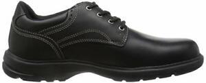 Timberland-Bradstreet-Plain-Toe-Schwarz-Full-Grain-Leder-Herren-OXFORD-Schuhe-5051a