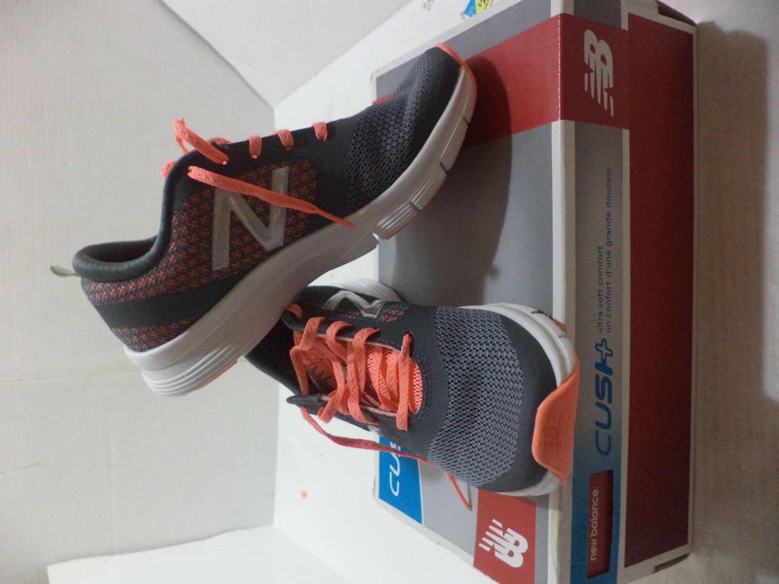 New balance WX711LF Cross-Training Zapato De Mujer Talla 6.5 6.5 6.5 Color gris, blancoo & Peach  minoristas en línea