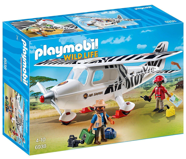Playmobil Wild Life/ 6938. Aeromobili Safari. a partire da 4 anni