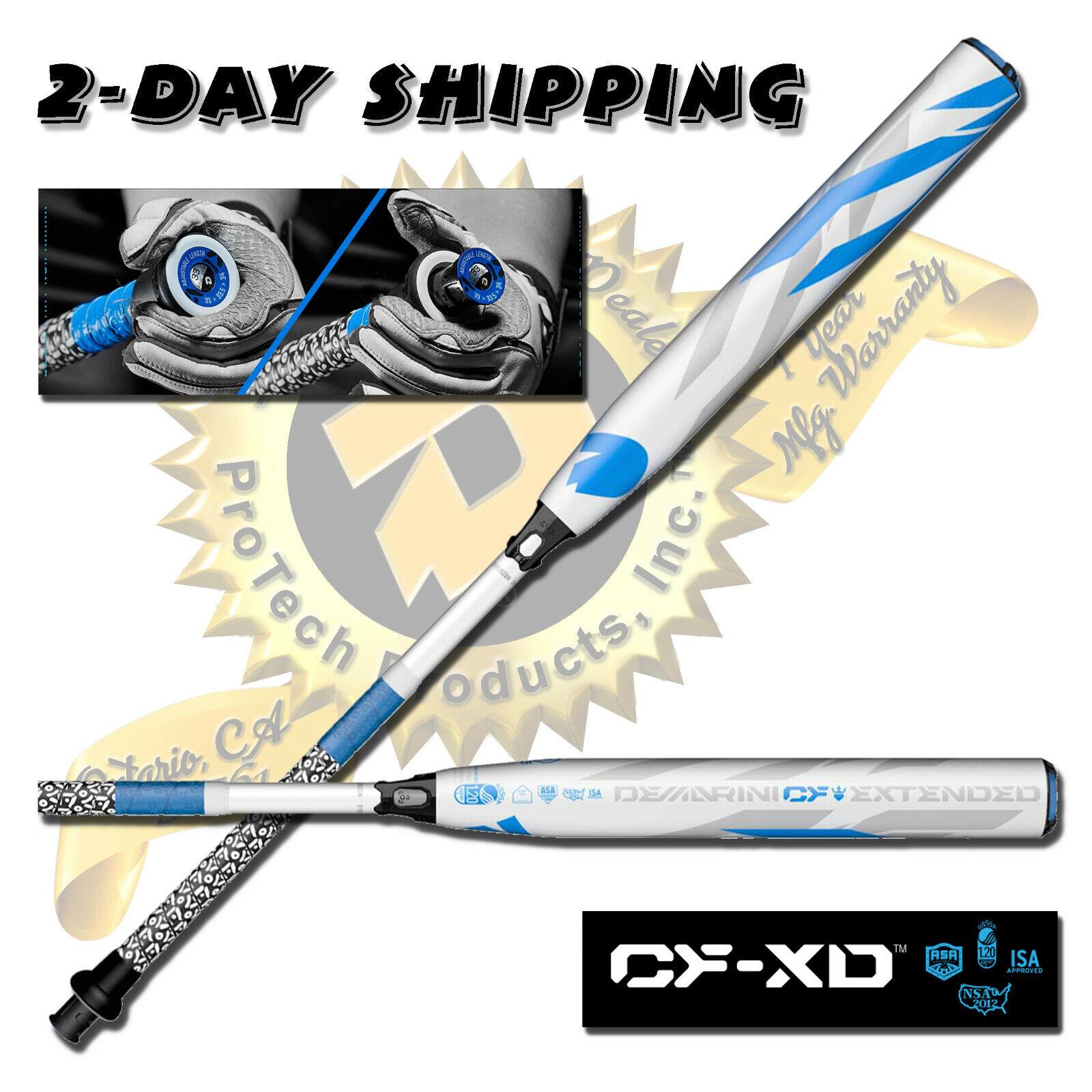 2019 Perilla De Demarini cf-XD Zen ajuEstrella Fastpitch Softball Bat 33  23 OZ-con Garantía