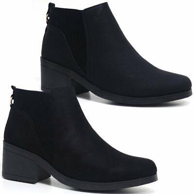 Ladies Block Heel Shoes Women Smart