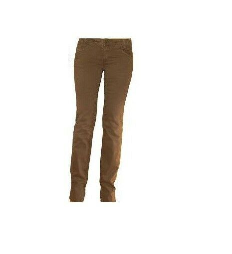 Diesel Newz Pants Beige Wash Stretch Twill Jeans  sz.27