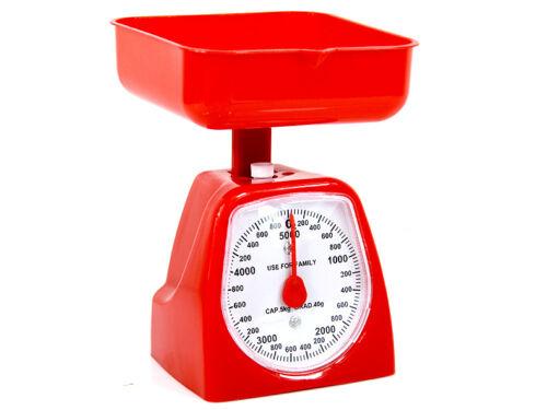 Küchenwaage Waage mit Wiegeschale bis 5 kg Waage Küche Backwaage